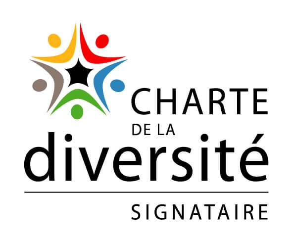 Logo charte diversite